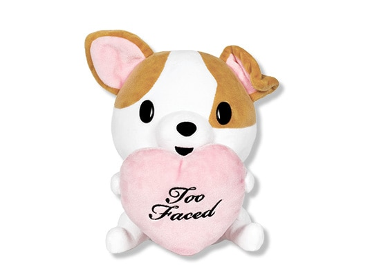 Too Faced Exclusive Stuffed Clover Plush Puppy